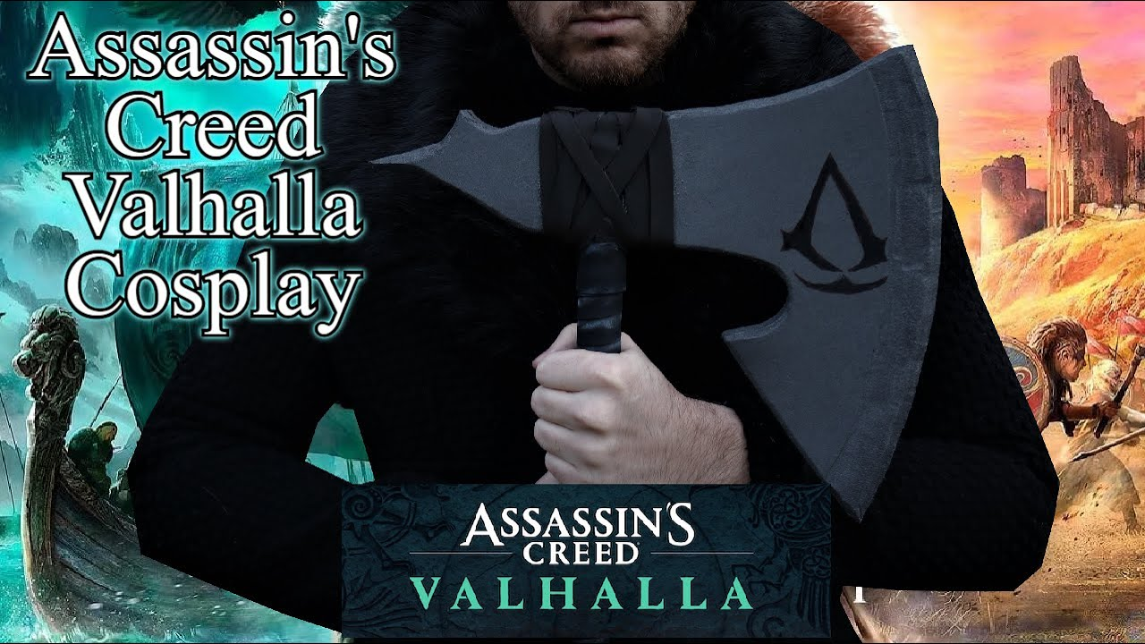 Assassin S Creed Valhalla Cosplay Tutorial Youtube