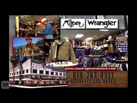 Los Angeles Western Wear & Clothing Country General Store