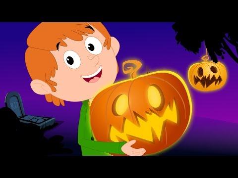 Scary Nursery Rhymes | Jack O'Lantern | Halloween Song For Kids