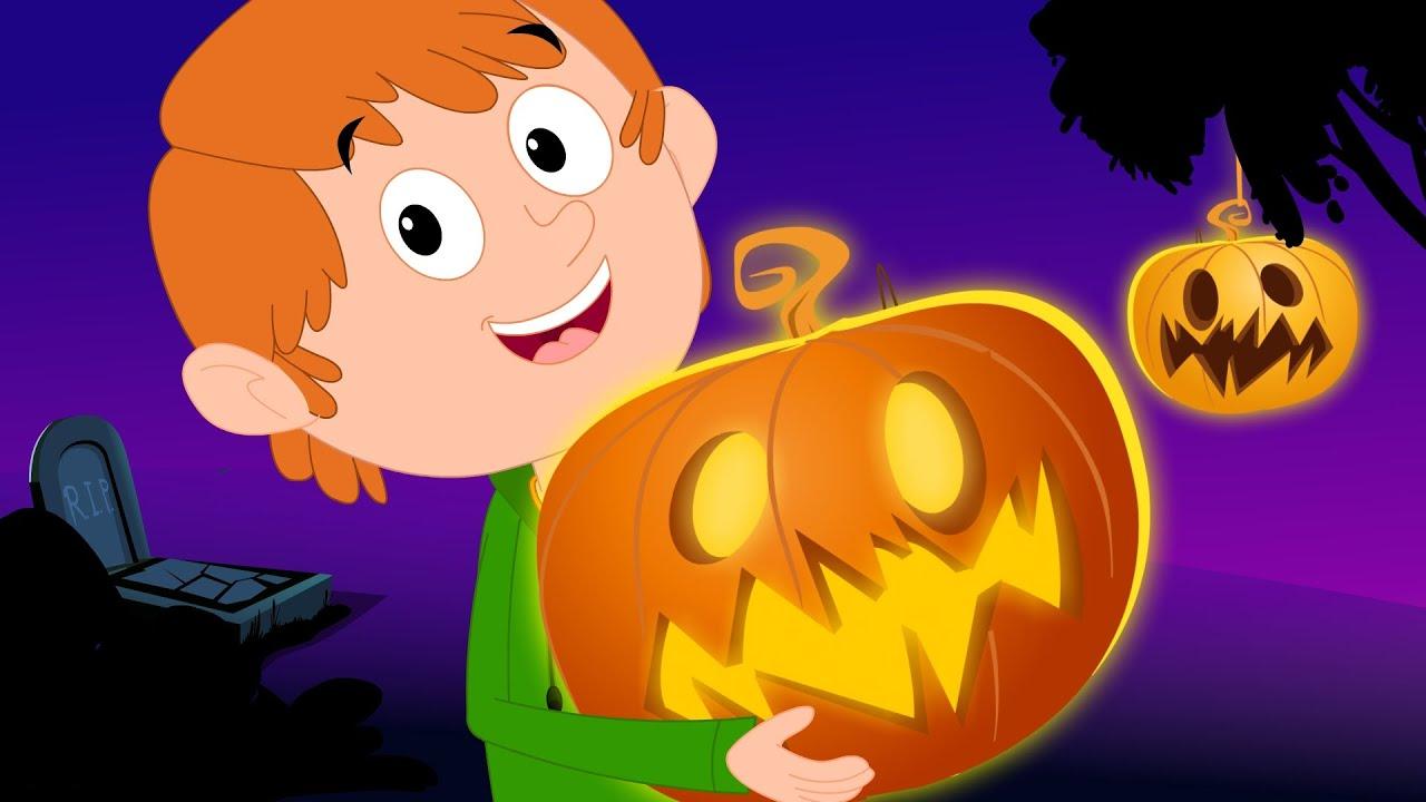 scary nursery rhymes jack o u0027lantern halloween song for kids