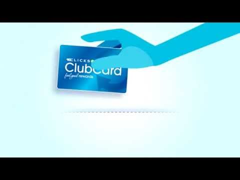 Clicks ClubCard - How do I earn points?