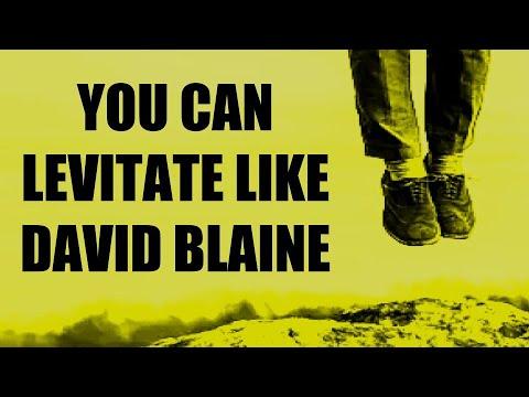 LEVITATE LIKE DAVID BLAINE + INTERACTIVE MAGIC