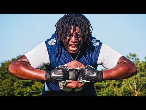 Video: All About Diego Pounds' Commitment To UNC