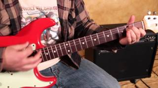 Jimi Hendrix Style Blues Rock Guitar Lesson - Voodoo Child Inspired chords