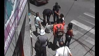 Siniestro vial en la intersección de Ituzaingó y Mendoza