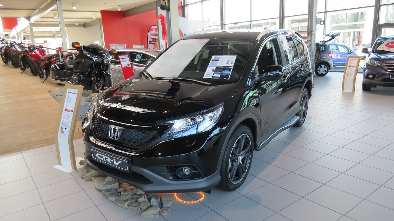 2015 Honda Cr V 1 6 Lifestyle Black Edition Youtube
