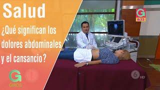 De dolor muscular en abdomen sintomas el