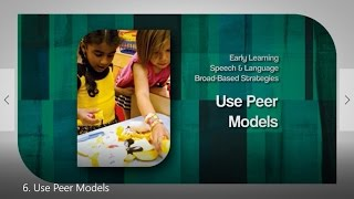 6. Use Peer Models