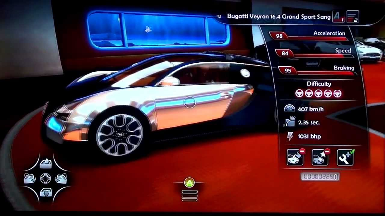 bugatti veyron grand sport sang bleu gameplay looks and sound test drive unlimited 2 hd. Black Bedroom Furniture Sets. Home Design Ideas