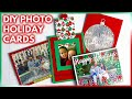 Easy DIY Photo Christmas Cards Perfect For The Holiday Season