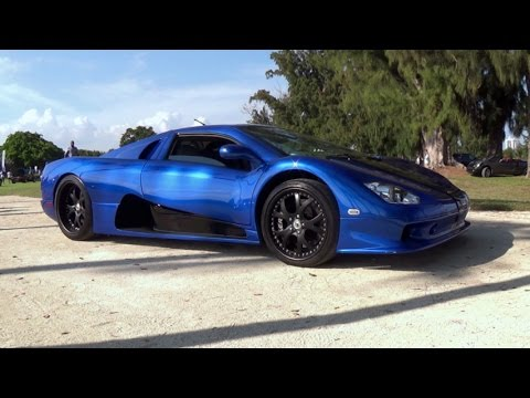 Shelby Supercar SSC Ultimate Aero 1300 hp BEAST FASTEST PRODUCTION CAR EVER Start up & drive LOUD