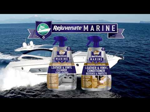 Rejuvenate Marine Leather Cleaner and Conditioner
