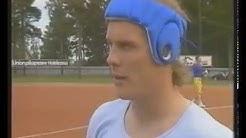 Urheiluruutu-klippi 1989. Pesäpalloa Alajärven Ankkurit - Vaasan Maila