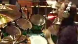 Joey Jordison Drum Solo/ Warm Up.