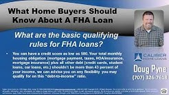 Top Rated High Balance FHA Mortgage Loan Officer Vacaville 95688