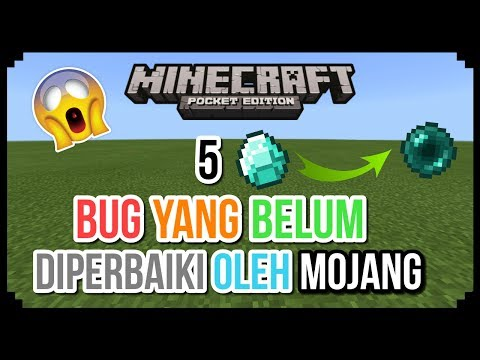 5 Bug Yang Belum Diperbaiki Oleh Mojang Di Minecraft PE (Pocket Edition)
