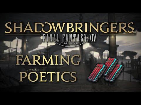 FFXIV: Shadowbringers - Farming Poetics Efficiently