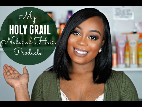 MY Holy Grail Natural Hair Products| As I Am, Shea Moisture, Marc Anthony Hair Care + MORE!