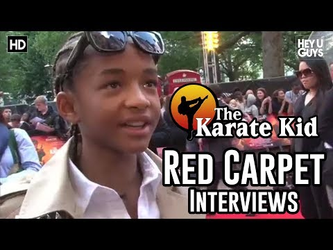 The Karate Kid UK Premiere Red Carpet Footage & Interviews