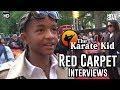 The Karate Kid UK Premiere Red Carpet Footage & Interviews