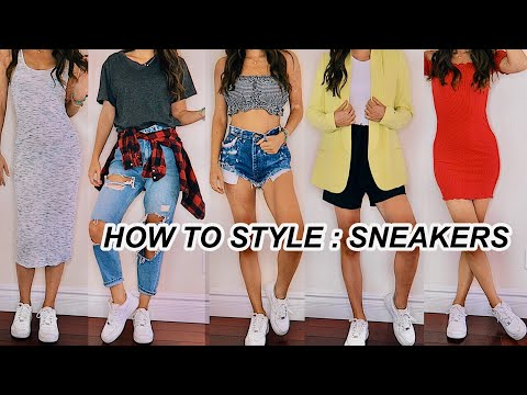 HOW TO STYLE NIKE AIR FORCE ONES