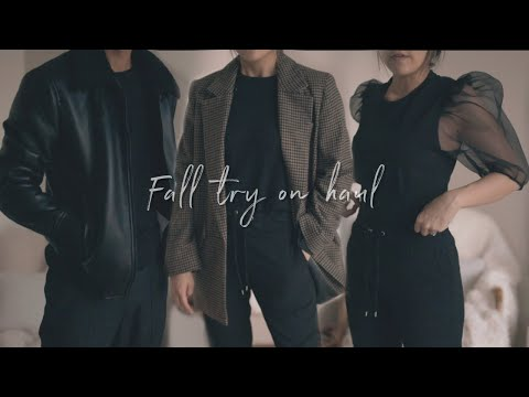 Fall Try On Haul 2019 With My Fiancé | Zara, & Other Stories, Gucci