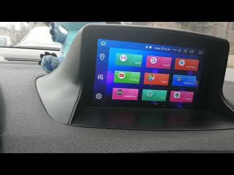 Обзор Андроид магнитолы на базе Rockchip PX5 для Renault Megane 3