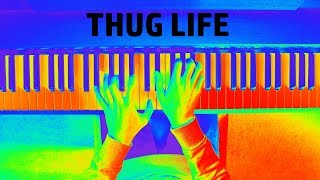 Brockhampton - THUG LIFE (Piano Cover + Animation)