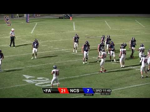NCS Football vs Fayette Academy: 2nd Half