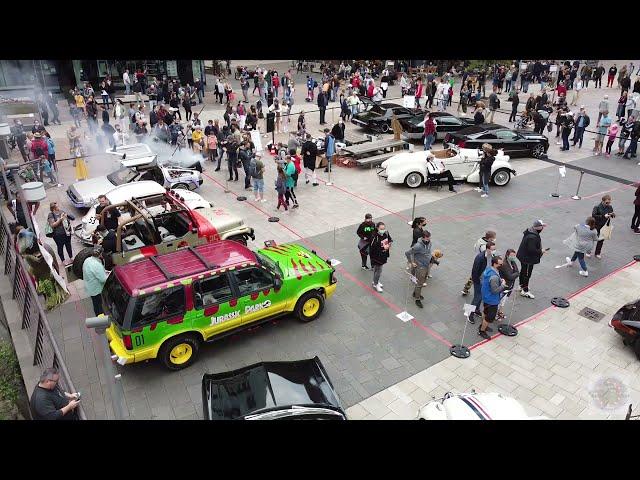 Filmauto Treffen 2020 in Hamburg - KITT aus Knight Rider, Delorean Zeitmaschine und viele mehr