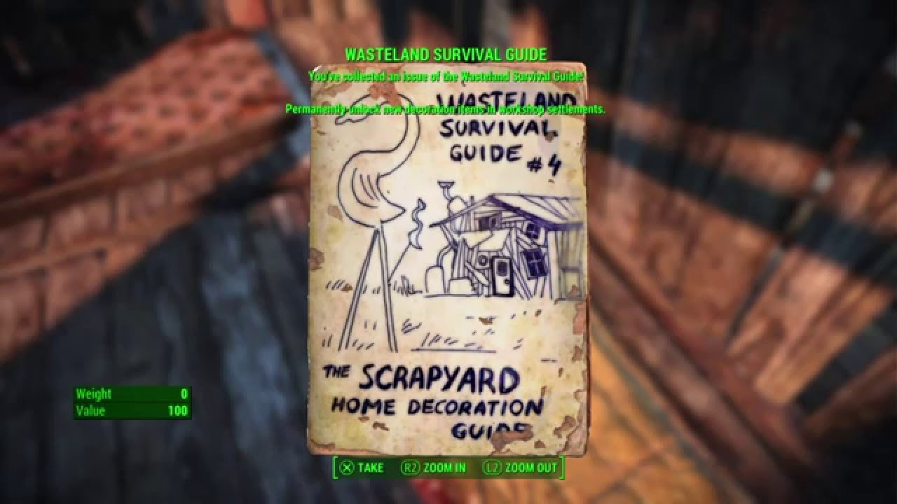 Great Fallout 4   Wasteland Survival Guide, Lynn Woods