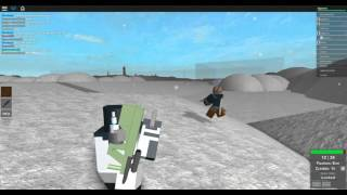 [ROBLOX: Dead Winter] - Lets Play w/ Friends Ep 2 - AUG, and Full Tech Outfit!