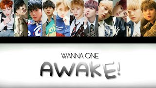 Wanna One AWAKE HAN, ROM LYRICS.mp3