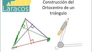 Construcción del Ortocentro de un triángulo