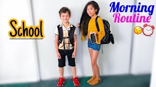 Our School Morning Routine | Familia Diamond