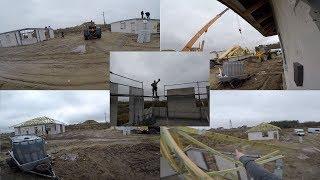 Jak wygląda montaż wiązarów widziany oczami budowlańca? Relacja z placu budowy #vlogbudowlany