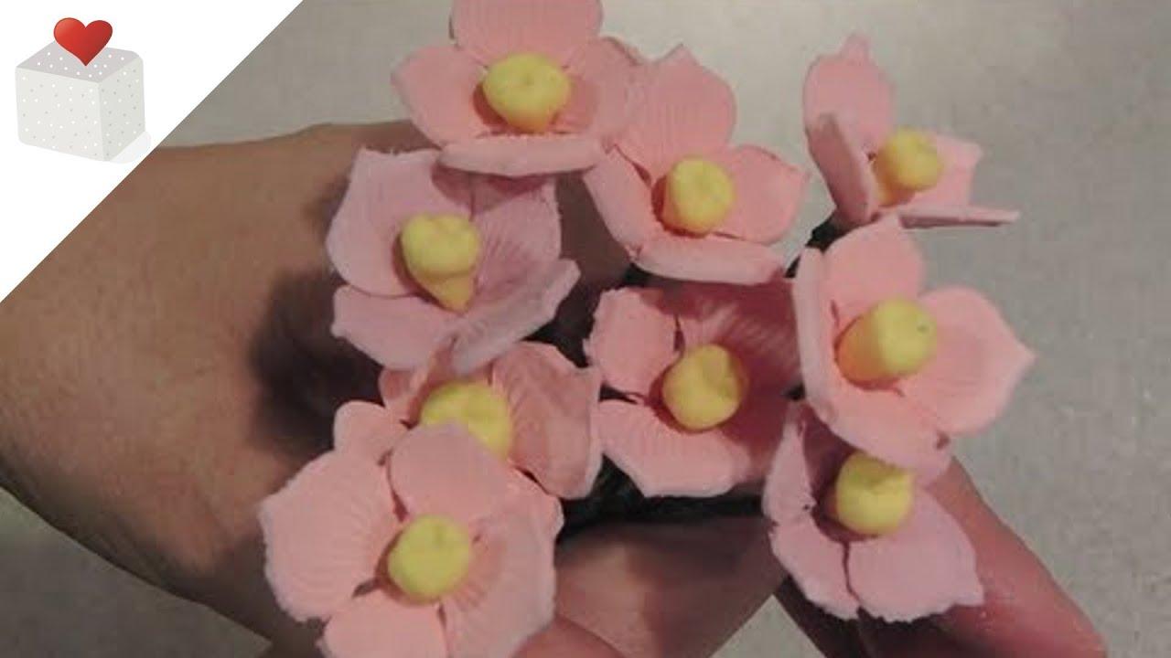 C mo modelar una flor hortensia con pasta de flores - Como cuidar una hortensia de exterior ...
