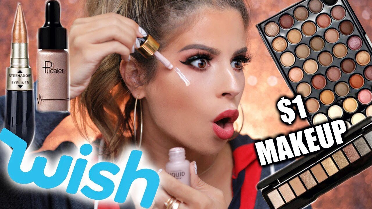1 Makeup From Wish Tested Hit Or Miss Youtube