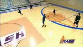 The 3 on 2 on 1 drill run by Steve Nash