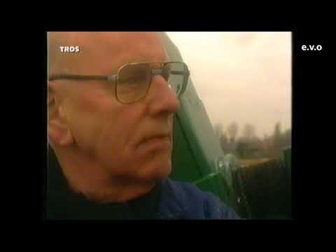 Harry Slinger en molenaar Piet Klees op TV 1992.