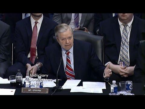 Graham Stands Against Partisan Attacks on Judge Gorsuch