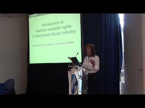 Capture CEO, Abbie Enock, keynote speech at the IPTC Photo Metadata Conference 2013