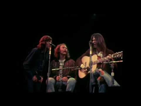 Cros Stills Nash and Young  Only Love Can Break Your Heart  Fillmore East 1970