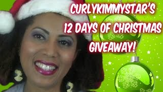 {CLOSED} CurlyKimmyStar's 12 Days of Christmas Giveaway Thumbnail