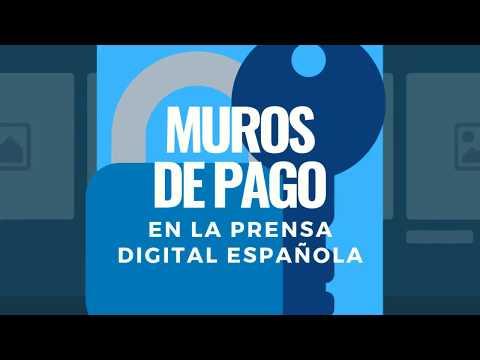 Muros de pago en la prensa digital española