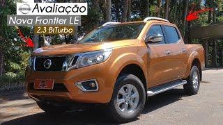 Avaliação | Nova Nissan Frontier LE 2.3 BiTurbo | Curiosidade Automotiva®