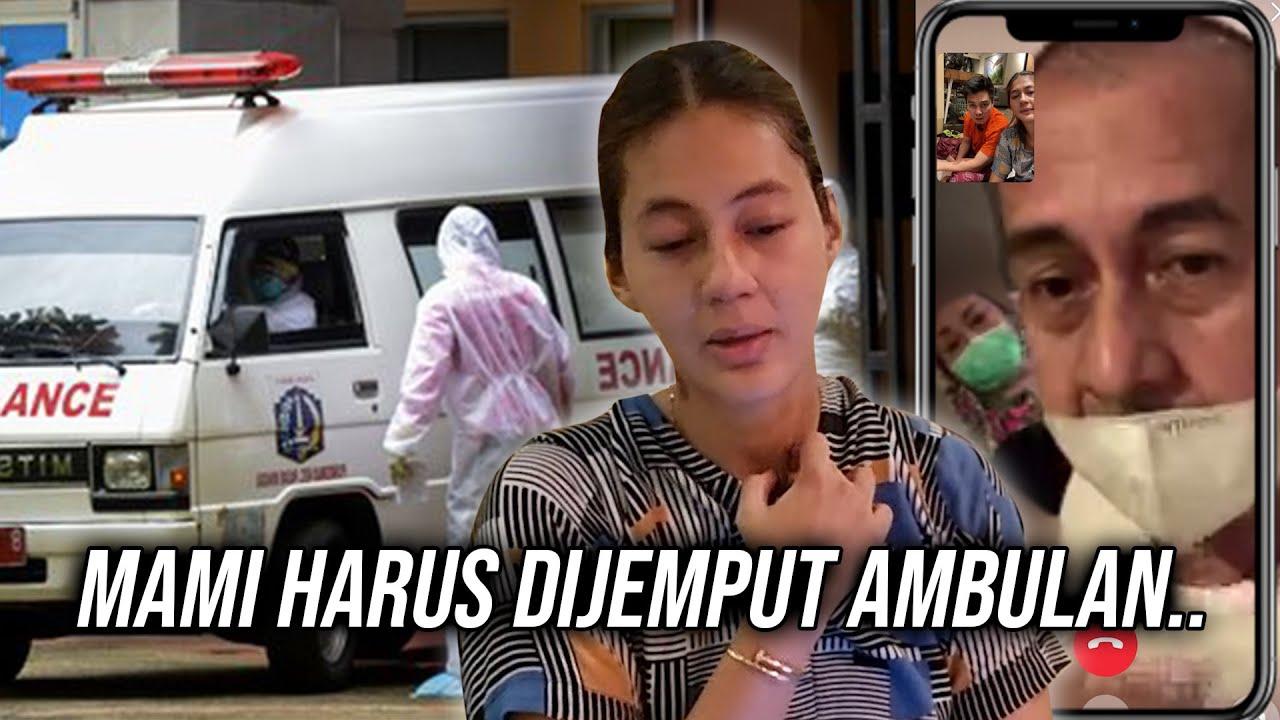 Ini Video Call terakhir sblm Mami harus dijemput Ambulan..Daoin Mami baik2 ya..