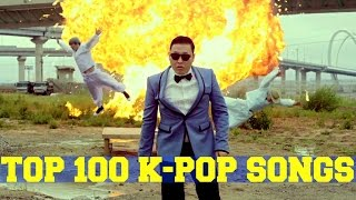 Top 100 Most Viewed K-Pop Music Videos of All Time (September 2015)