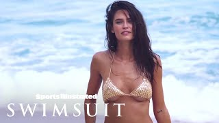 Bianca Balti Makes Her Golden Debut | Sports Illustrated Swimsuit