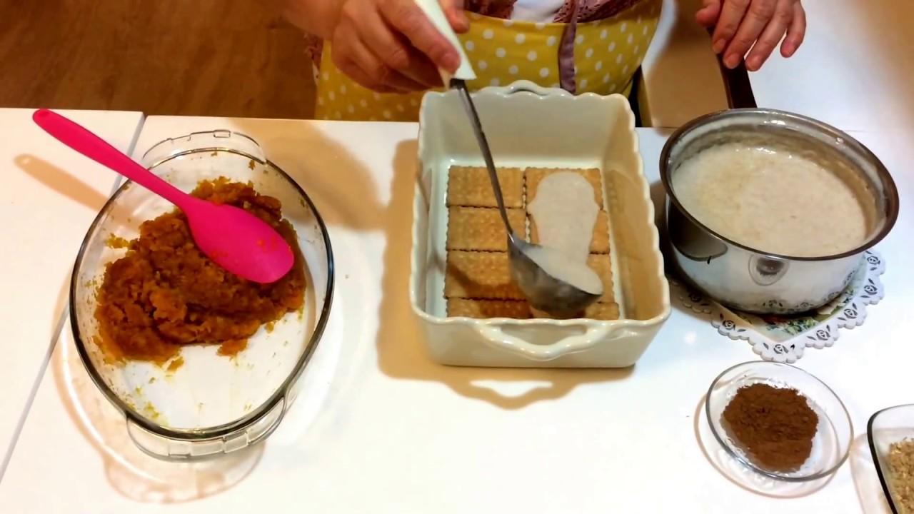 Bisküvili Bal Kabağı Tatlısı - Nokta Tatlar - Yemek Tarifi